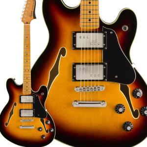 Fender フェンダー Classic Vibe Starcaster Maple Fingerbaord 3-Color Sunburst スターキャスター|shimamura