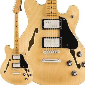 Fender フェンダー Classic Vibe Starcaster Maple Fingerbaord Natural スターキャスター|shimamura
