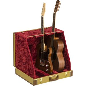 Fender フェンダー Classic Series Case Stand Tweed 3 Gui...