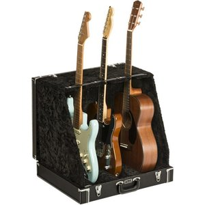 Fender フェンダー Classic Series Case Stand Black 3 Gui...