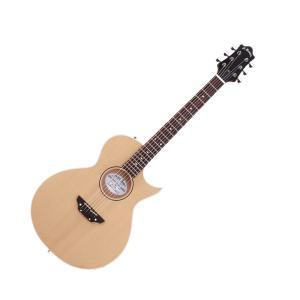 G-ACシリーズは、ボディはマホガニーをくり抜いてスプルースを張り合わせたホロウ構造のギター。ボディ...