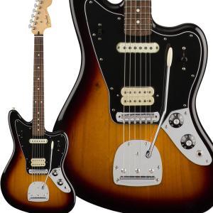 Fender フェンダー Player Jaguar, Pau Ferro Fingerboard,...