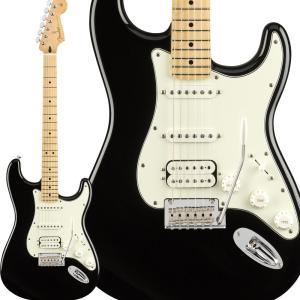 Fender フェンダー Player Stratocaster HSS, Maple Fingerboard, Black ストラトキャスター|shimamura