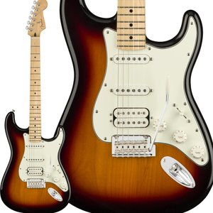 Fender フェンダー Player Stratocaster HSS, Maple Fingerboard, 3-Color Sunburst ストラトキャスター|shimamura