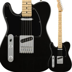 Fender フェンダー Player Telecaster Left-Handed, Maple Fingerboard, Black テレキャスター 左利き用|shimamura