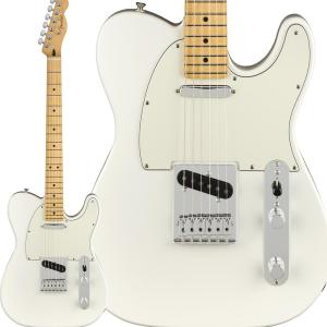 Fender フェンダー Player Telecaster, Maple Fingerboard, Polar White テレキャスター|shimamura