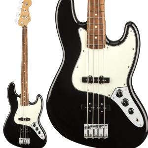 Fender フェンダー Player Jazz Bass, Pau Ferro Fingerboard, Black ジャズベース|shimamura
