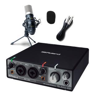 Roland ローランド rubix22 高音質配信・録音セット 動画配信