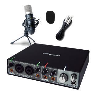 Roland ローランド rubix24 高音質配信・録音セット 動画配信