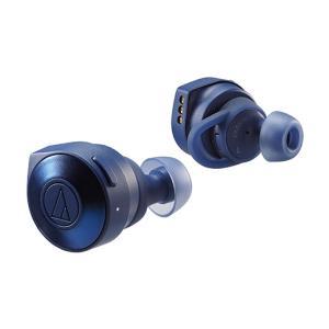 audio-technica オーディオテクニカ ATH-CKS5TW (ブルー) 完全ワイヤレスイヤホン Bluetoothイヤホン|shimamura