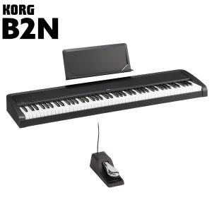 KORG コルグ 電子ピアノ 88鍵盤 B2N BK ブラック 〔オンラインストア限定〕〔別売り延長保証対応プラン:E〕|shimamura