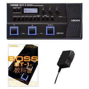 BOSS ボス GT-1 スターターセット 初心者 教科書セット GT-1 + 教科書 + PSA-...