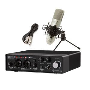 steinberg スタインバーグ UR22C + TM-80 高音質配信 録音セット TASCAM...