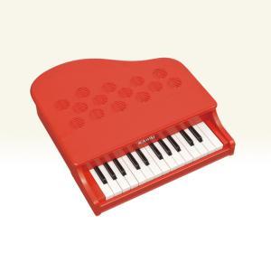 KAWAI カワイ P-25 ミニピアノ 25鍵盤 ポピーレッド P25 1183