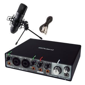 Roland ローランド Rubix24 + TM-80(B) 高音質配信・録音セット TASCAM...