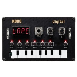 KORG コルグ NTS-1 digital KIT コンパクト DIY シンセキット