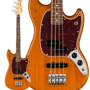 Fender フェンダー Player Mustang Bass PJ Pau Ferro Aged...