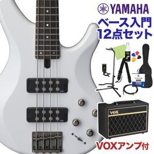 YAMAHA ヤマハ TRBX304 WH ベース 初心者12点セット 〔VOXアンプ付〕 ベース ...