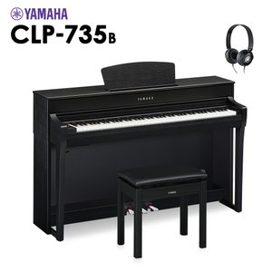 YAMAHA ヤマハ 電子ピアノ クラビノーバ 88鍵盤 CLP-735B CLP735B Clav...