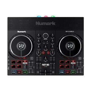 Numark ヌマーク Party Mix Live DJコントローラ− LEDパーティライト搭載 スピーカー内蔵 〔2021年7月以降発売予定〕 島村楽器 PayPayモール店