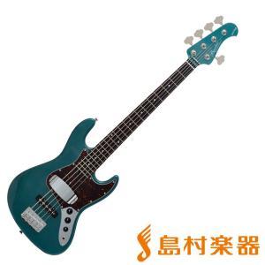 Bacchus バッカス WL-533/R GM 5弦エレキベース|shimamura