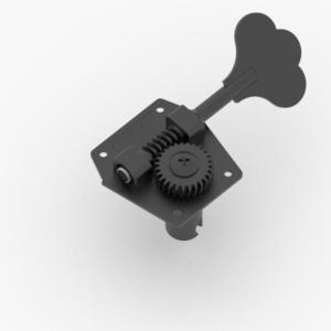 HIP SHOT ヒップショット HB3/20310B Black ペグ エレキベース用
