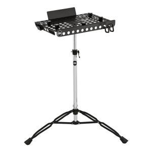 高さ調整が可能なラップトップ用テーブルストラップとストッパー付のノートPC用テーブルスタンドです。穴...