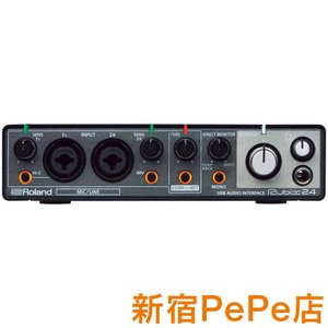 Roland ローランド RUBIX24 USB オーディオインターフェイス 〔新宿PePe店〕