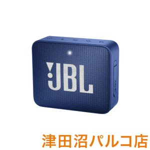 JBL GO2 (ブルー) [ 防水性能IPX7] ポータブルスピーカー ワイヤレススピーカー Bl...