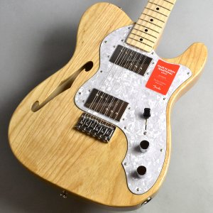Fender フェンダー Made in Japan Traditional 70s Telecaster Thinline/Natural エレキギター シンライン〔新宿PePe店〕|shimamura