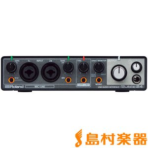 Roland ローランド RUBIX24 USB オーディオインターフェイス