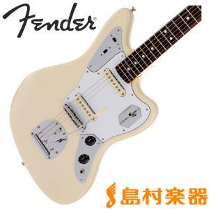 Fender フェンダー Johnny Marr Jaguar Olympic White ジャガー...