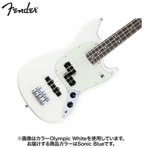 Fender フェンダー Mustang Bass PJ Sonic Blue エレキベース