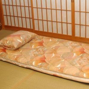 【セミダブル】2点買いでお得「敷きふとん」と「二枚合わせ羽毛掛け布団」|shimaonsen