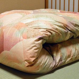 柏屋旅館オリジナル二枚合わせ羽毛掛け布団、2枚重ねで冬も暖か shimaonsen 04