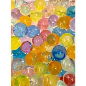 ぷよぷよボール 小分け10袋 1個500個入り 約5000個入 水でふくらむ ぷよぷよボール すくい 水で膨らむ不思議なビーズ アクアジェリービーズ 水