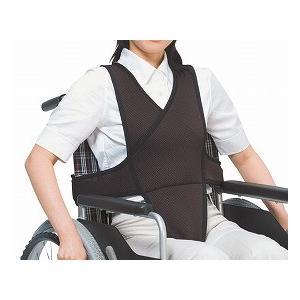 車椅子ベルト L ブラウン 4010 (特殊衣料) (車いす用小物) shimayamedical