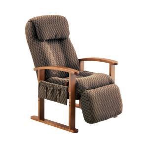 リクライニングチェア ブラウン(KSC-951) KSC-951 (コイズミファニテック) (補助いす・座いす)|shimayamedical