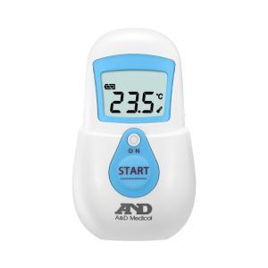 非接触体温計 でこピッと ブルー UT-701 (エー・アンド・デイ) (体温計)|shimayamedical