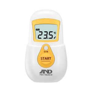 非接触体温計 でこピッと イエロー UT-701 (エー・アンド・デイ) (体温計)|shimayamedical