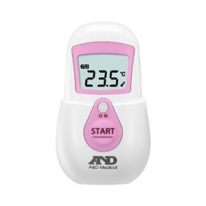 非接触体温計 でこピッと ピンク UT-701 (エー・アンド・デイ) (体温計)|shimayamedical