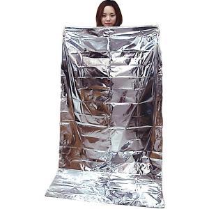 空気枕付 防災アルミ蒸着寝袋 BNB-180A (石崎資材)(簡易寝袋)|shimayamedical