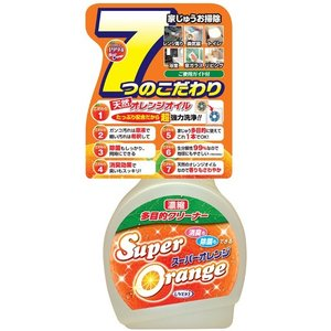 スーパーオレンジ 消臭除菌泡タイプ 480mL (UYEKI )(オレンジオイル除菌) shimayamedical