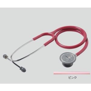 聴診器(フォーカルトーン) basis ピンク basis ピンク (アズワン(As-one)) (診察用品) shimayamedical