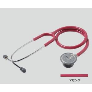 聴診器(フォーカルトーン) basis マゼンタ basis マゼンタ (アズワン(As-one)) (診察用品) shimayamedical
