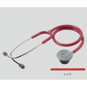 聴診器(フォーカルトーン) basis レッド basis レッド (アズワン(As-one)) (診察用品) shimayamedical