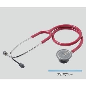 聴診器(フォーカルトーン) basis アクアブルー basis アクアブルー (アズワン(As-one)) (診察用品) shimayamedical