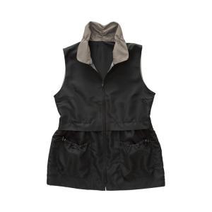 12ポケット手ぶらスタイルベスト ブラック L 38306 (コジット) (女性用ベスト)