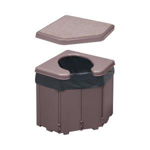 ポータブルコーナートイレ R-46 (サンコー) (樹脂トイレ)