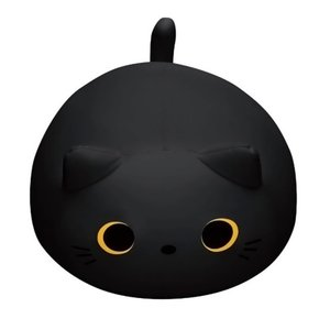 もぐっち みーたん 黒 (MOGU) (クッション)の商品画像